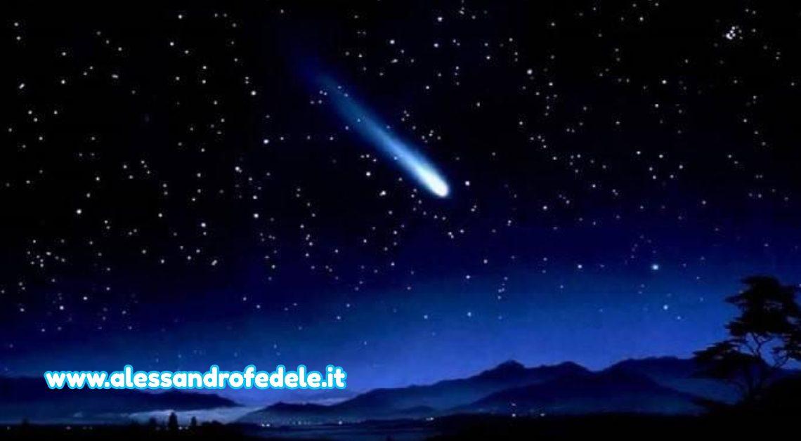 Se vedi una stella cadente perché esprimi un desiderio?